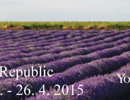 Slavnostní otevření Young Living v České republice 25. – 26. 4. 2015